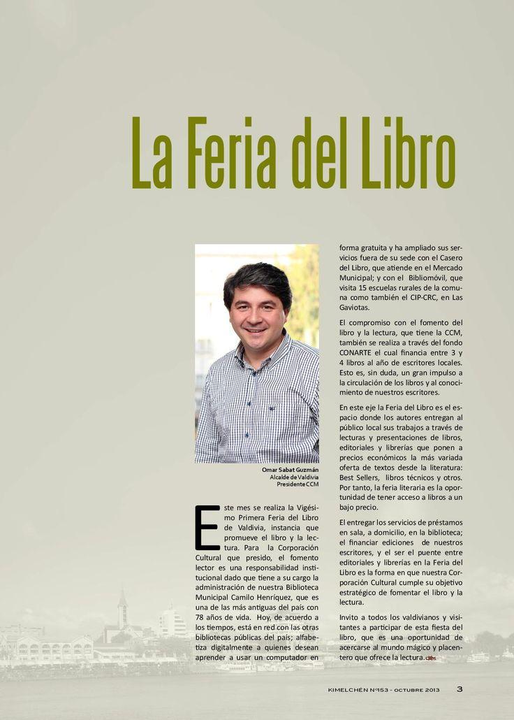 Revista Kimelchén Octubre 2013