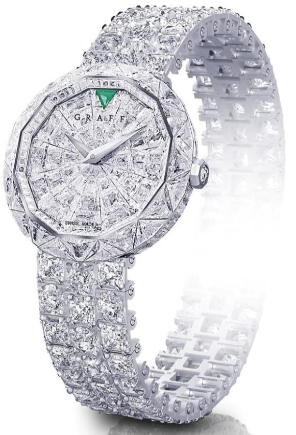 graff diamond watch. There are diamond watches, and then there are diamond .... What?!?!
