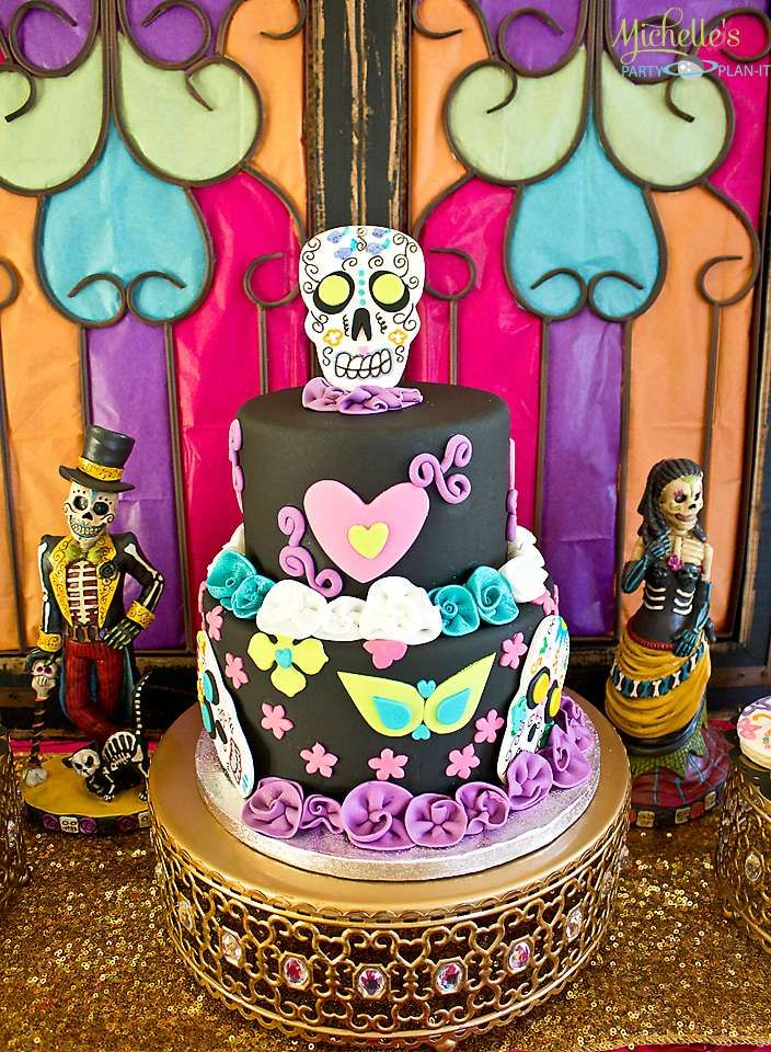 dia de los muertos halloween party ideas photo 1 of 38 catch my party