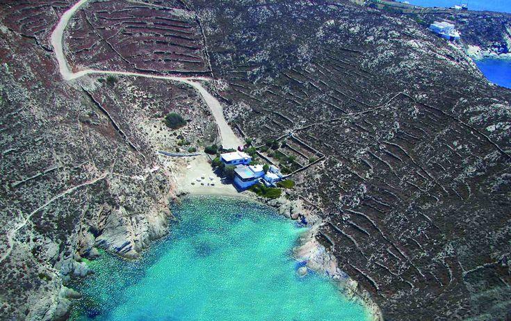 Zabačena plaža :)   #ios #greecehttp://go2travelling.net/putovanja/go2-leto-2014/ios-grcka-2014