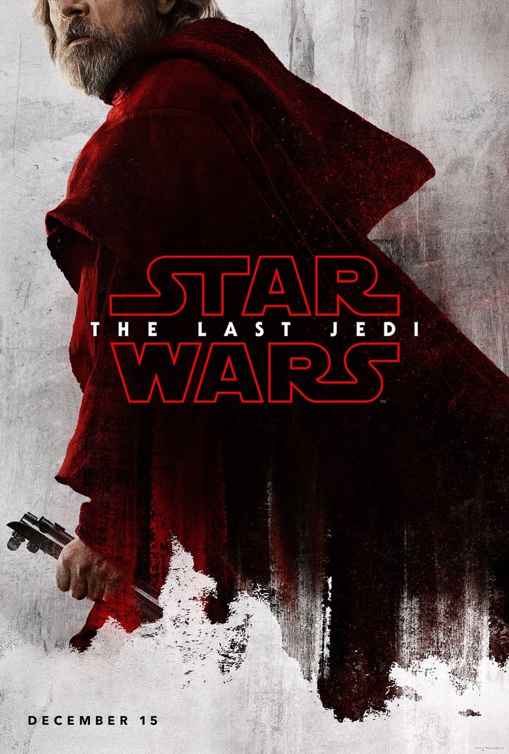 star wars: the last jedi teaser poster for luke