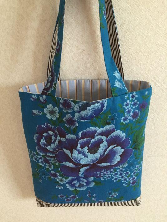 台湾客家花布のバッグ