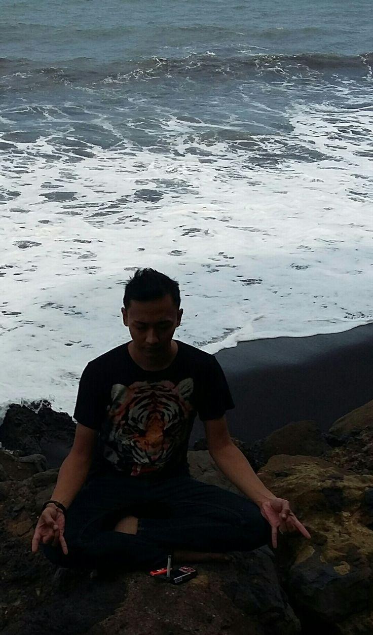 Meditation in the Pantai Selatan Lumajang