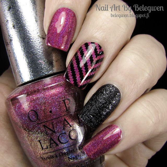 Nail Art By Belegwen: OPI DS Exclusive and Emotions