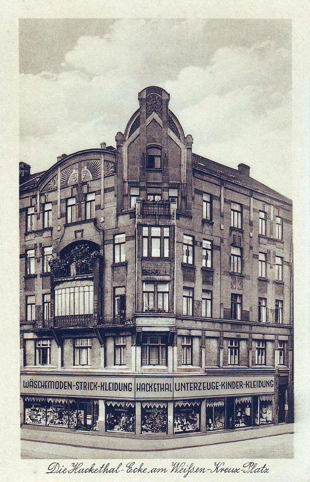 HANNOVER Oststadt * um 19300 Kaufhaus Hackethal am