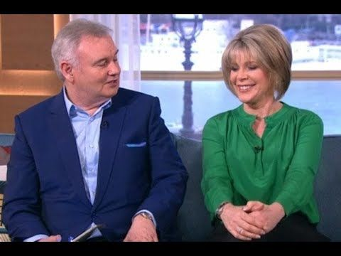 Ruth Langsford confesses to grid girl past as Eamonn Holmes begs for photo evidence