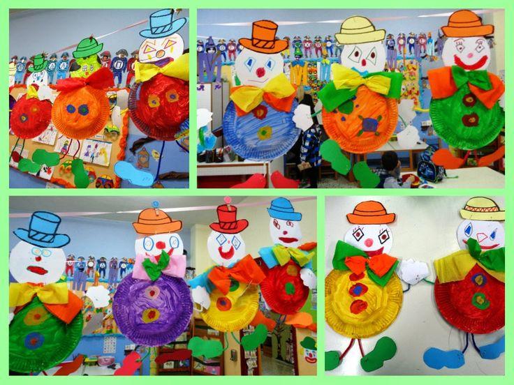 Tippytoe Crafts Clowns & Clown Paper Plate Craft - Castrophotos