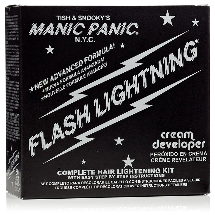 Manic Panic Flash Lightning Bleach 30 Volume Box Kit ** Click image to review more details.