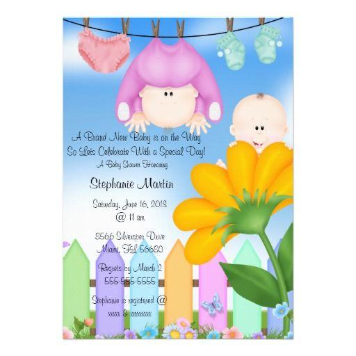 baby shower invitation backyard sunflower sunflower baby showers baby