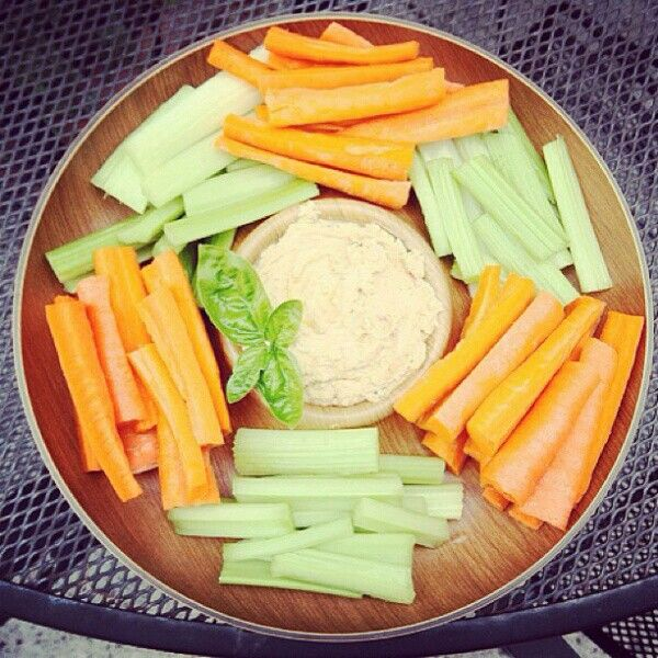 Low Cal Foods To Eat With Hummus