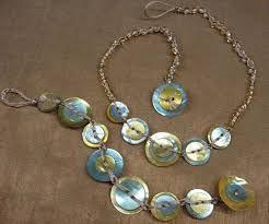 alta moda vendita professionale il più economico Risultati immagini per creare una collana con bottoni di ...