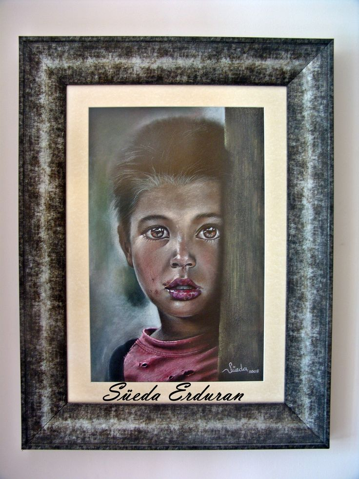 Pastel painting made by Süeda Erduran