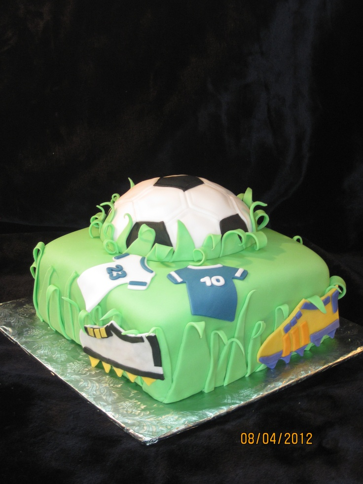 Pictures Of Soccer Birthday Cakes