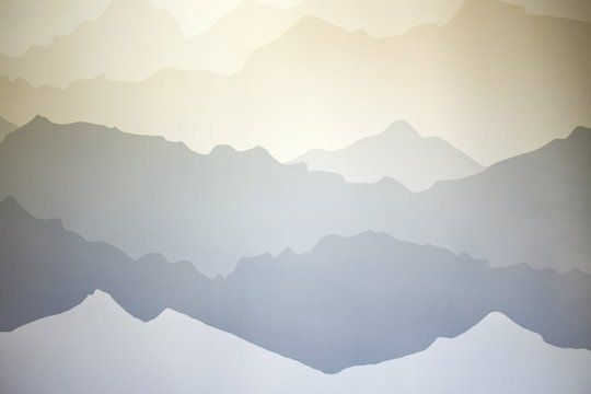 """The """"Mountain Mural"""" Bedroom Makeover — Decorating Project 