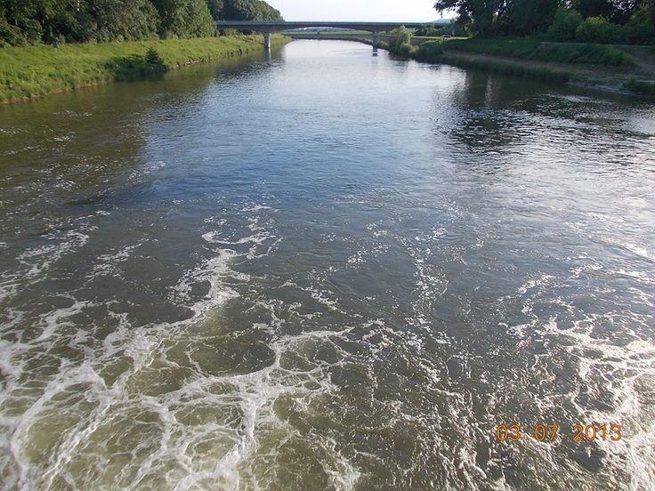 Uherské Hradiště - řeka Morava