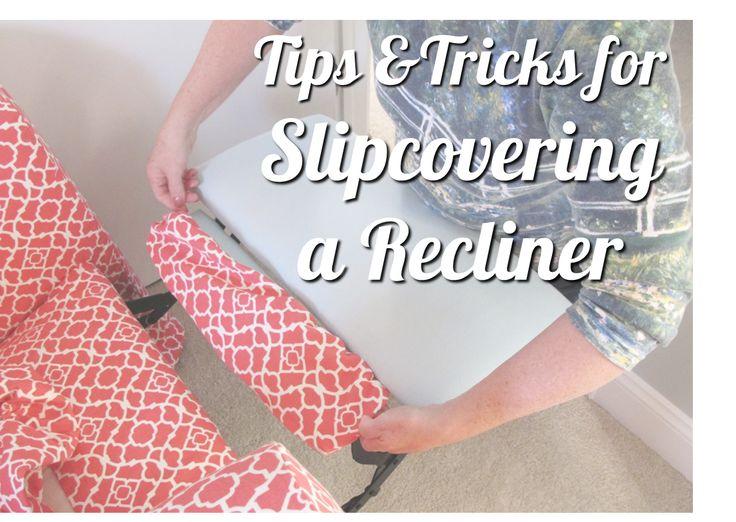 Best 25 Recliner Cover Ideas On Pinterest Reupolster