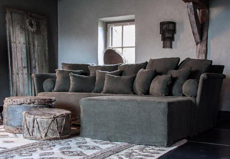 17 beste idee n over grijze banken op pinterest lounge for Hoffz interieur nl