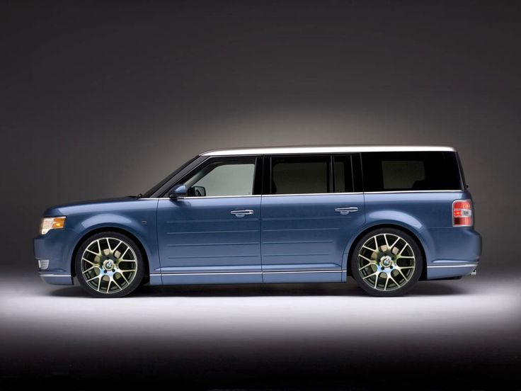 Ford Flex: cool wheels