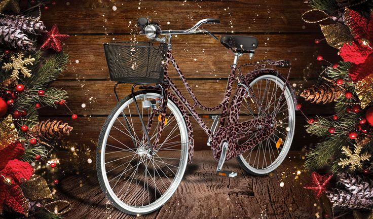 Top 10 Christmas gift ideas 2013 for women: best presents for a Fashionable Mom - Fashionable Mother is the type of Mom who wants to be on trend without showing off. How? This DOLCE&GABBANA BICYCLE will do. With an elegant design and a touch of animal print that will give her enough energy for the day, this is the perfect gift for Christmas.
