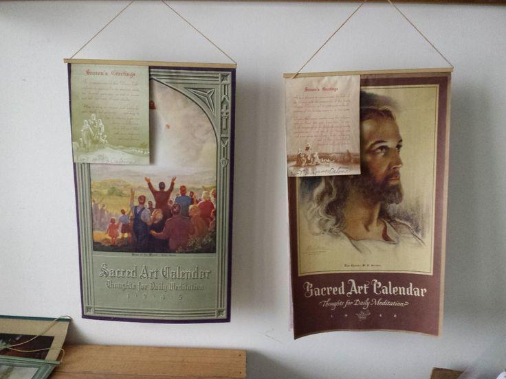 1945 & 1948 Calendars