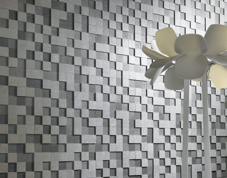 NANOEVOLUTION - ANTHRACITE by Apavisa. Backsplash, wall tile. Handmade tiles can be colour coordinated and customized re. shape, texture, pattern, etc. by ceramic design studios