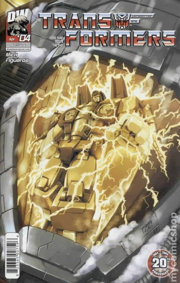Transformers Generation 1 (2003 Volume 3) 4A Image Comics book covers Modern Age