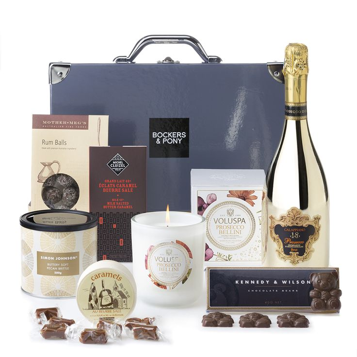 Pure Gold Luxury Hamper | Christmas Hampers | Gourmet Hampers | Bockers & Pony