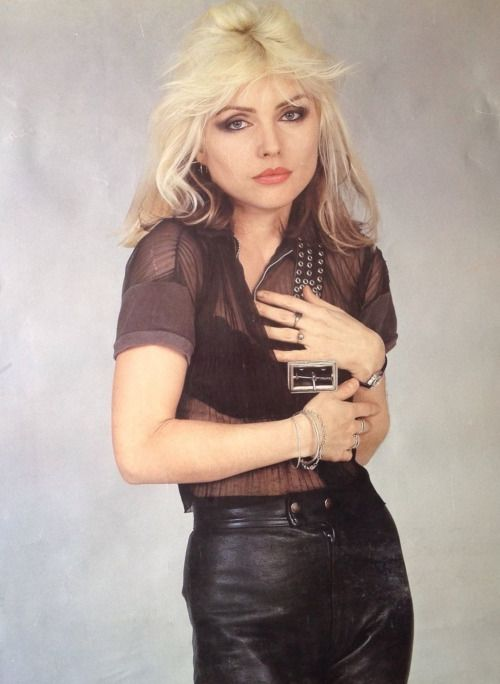 Debbie Harry looking very Pat Benatar, or is it the other way around?
