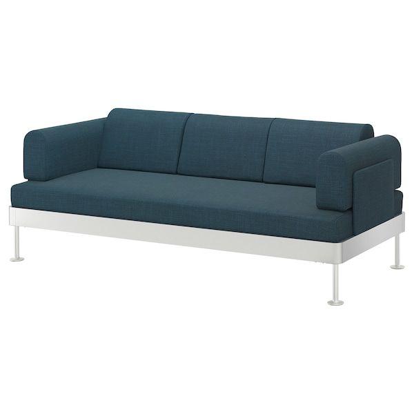 Delaktig 3er Sofa Hillared Dunkelblau Ikea Deutschland 3er Sofa Sofa Stoff Kissen Sofa