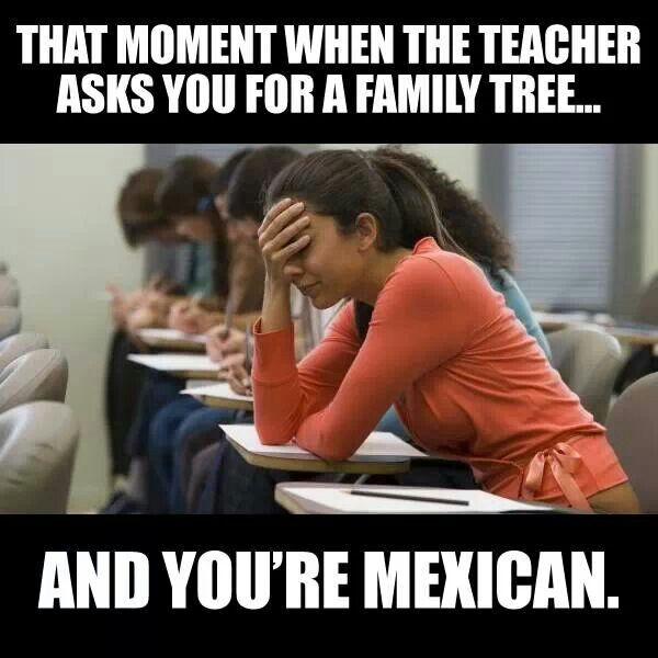 There is no tree big enough for my familia
