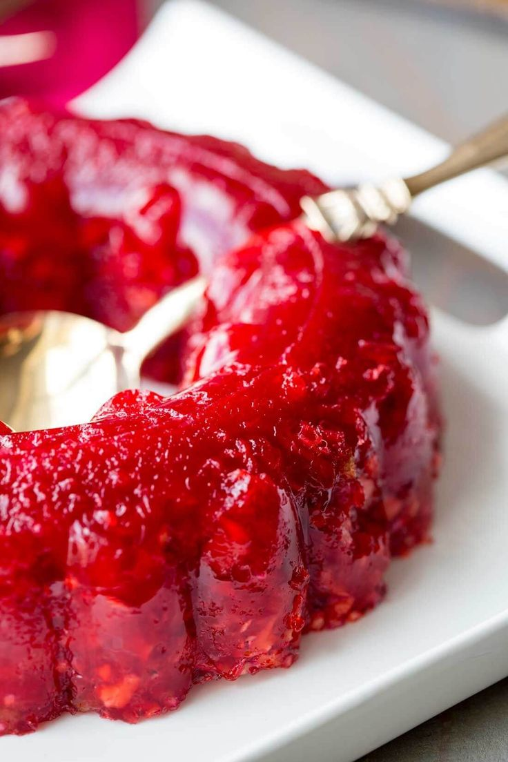 thanksgiving cranberry jello recipes - 736×1104
