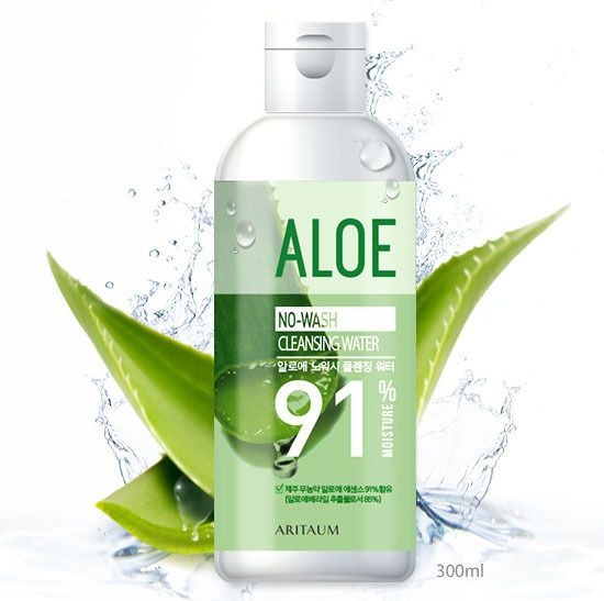 Amore Pacific ARITAUM Aloe Cleansing Water 300ml, No Wash Cleansing Water #ARITAUM