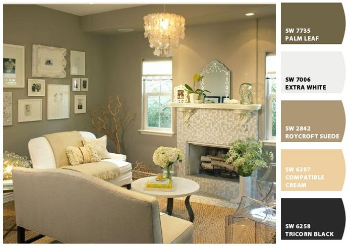 Best Color Ideas For Home Images On Pinterest Living Room