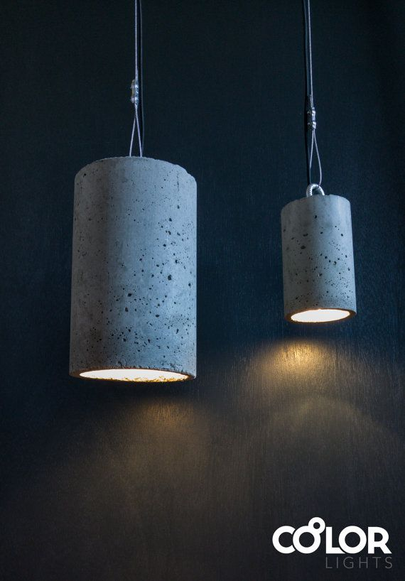 Concrete lamp #concretependantlight #concretelamp