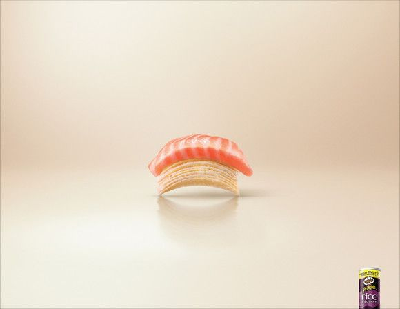 Pringles Rice Infusions: Sushi