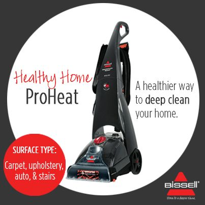 BISSELL AUSTRALIA - A healthy home is a happy one! Give your home the deep clean treatment with ProHeat, the machine with Microban® antibacterial product protection that keeps cleaning healthy and allergen-free. Find out more here: http://www.bisselloutletstore.com.au/titanium-healthy-home-proheat.html