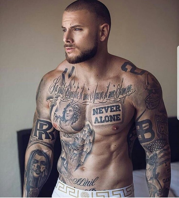 Best 25 male chest tattoos ideas on pinterest male for Does dr numb work for tattoos