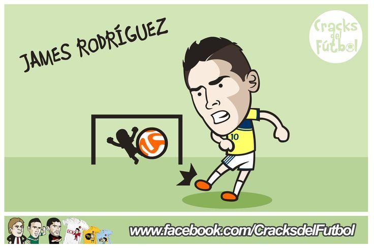 5 veces JAMES RODRÍGUEZ