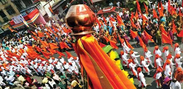 Gudi Padwa - Festival of Spring. Gudi Padwa is a Maharashtrain spring festival. Gudi Padva brings the smell of Surangi flower - learn more about Gudi Padwa.