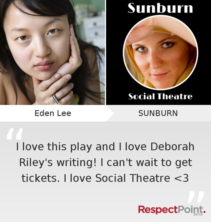 Click through to see what Eden Lee had to say about SUNBURN on RespectPoint.com.