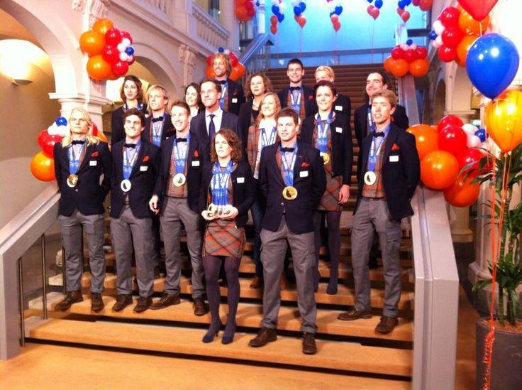 Alle medaille winnaars op een rij!!!