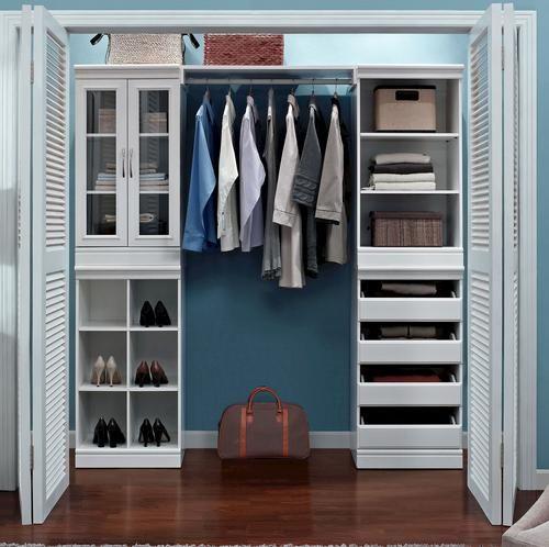 Complete Closet System - White $399