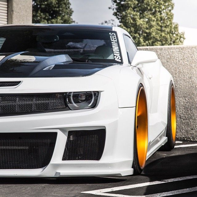 Widebody Camaro • Photo by @t_s_photography  #CarLifestyle