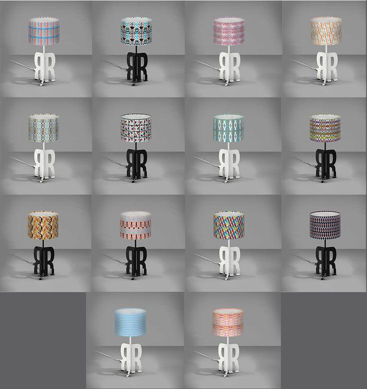 REPLAY ART DESIGN TABLE LAMPS
