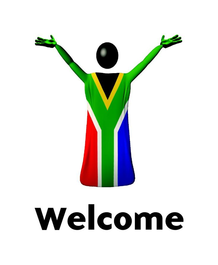 welcome. South Africa.