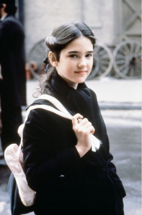 Jennifer Connelly in her first film role (the young Deborah) for Once Upon A Time In America, 1984