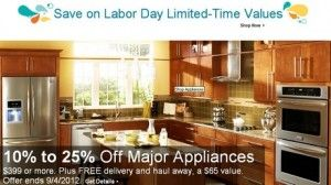 Lowe's Labor Day Sale 2012: Big Savings on all Major Appliances