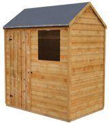 free 6x4 shed plan