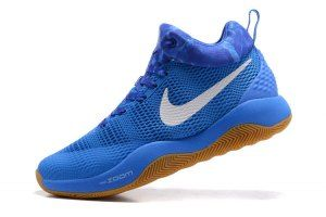 473775ad4e9b Mens Nike Zoom HyperRev 2017 LTMD Game Royal White Polarized Blue 906874  400 Basketball Shoes