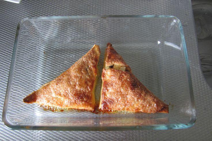 Glutenvrije appelflapjes en mini-worstenbroodje